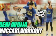 Projected-Top-5-NBA-Pick-Deni-Avdija-Is-An-ANIMAL-Israeli-Star-Can-Do-It-ALL-Practice-Highlights